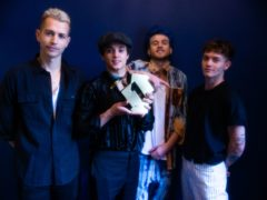 The Vamps (Official Charts Company/PA)