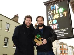 Michael Ball, left, and Alfie Boe (Jack Alexander/PA)