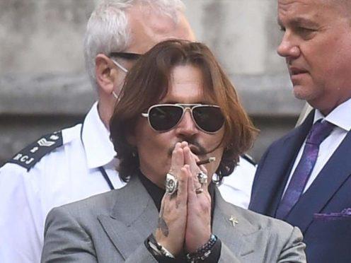 Johnny Depp (Victoria Jones/PA)