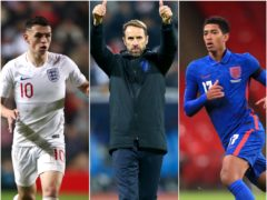 England's final game of 2020 is a Nations League tie at home to Iceland (PA)