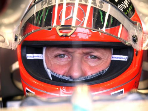 Michael Schumacher's record has been equalled (PA)