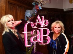 Joanna Lumley and Jennifer Saunders attending the Absolutely Fabulous The Movie After Party (Ian West/PA)