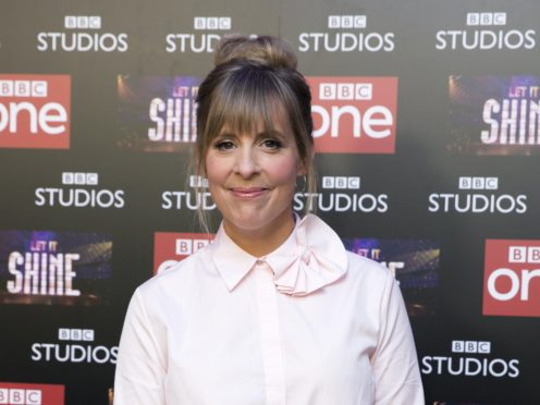 Mel Giedroyc is one of the hosts of this year's show (Isabel Infantes/PA)