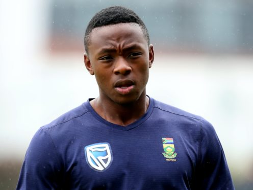 South Africa star Kagiso Rabada is a staunch advocate of Black Lives Matter (Simon Cooper/PA)
