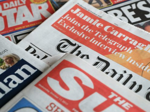 What the papers say – November 3 (PA)