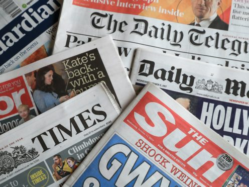 What the papers say – November 14 (PA)
