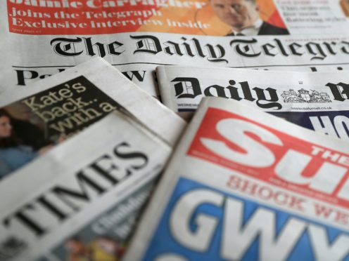 What the papers say – November 15 (PA)