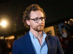 Tom Hiddleston (Matt Crossick/PA)