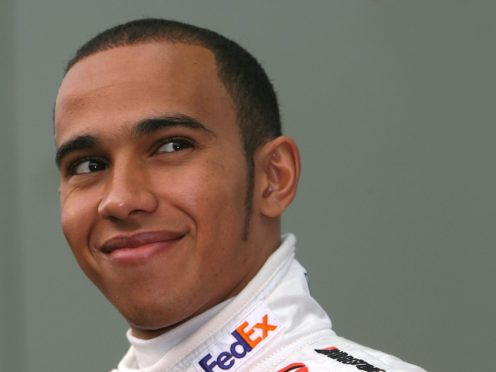 Lewis Hamilton, pictured in his McLaren days in 2007 (PA)