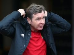 Peter Grant has one injury concern (Jane Barlow/PA)