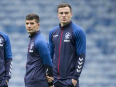 Rangers' George Edmundson (right) and Jordan Jones have been issued with notices of complaint (Jeff Holmes/PA)