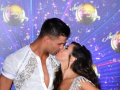 Husband and wife Aljaz Skorjanec and Janette Manrara are being kept apart to comply with coronavirus safety protocols (Ian West/PA)