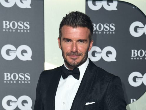 David Beckham owns a football club in the US (Matt Crossick/PA)