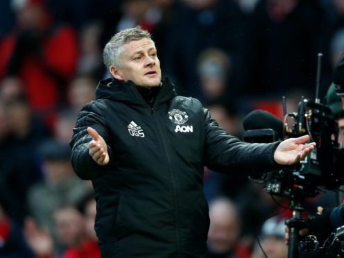 Man Utd manager Ole Gunnar Solskjaer is in defiant mood ahead of the trip to Everton (PA)