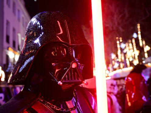 Star Wars villain Darth Vader (Ian West/PA)