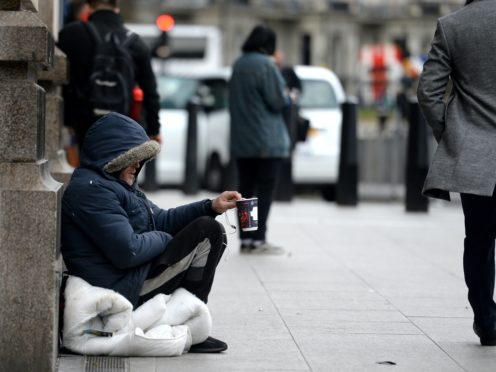 The group is aiming for cross-party agreement to end homelessness (Nick Ansell/PA)