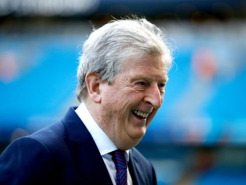 Crystal Palace's manager Roy Hodgson believes the strength of his squad is the best he has had at the club (Martin Rickett/PA)