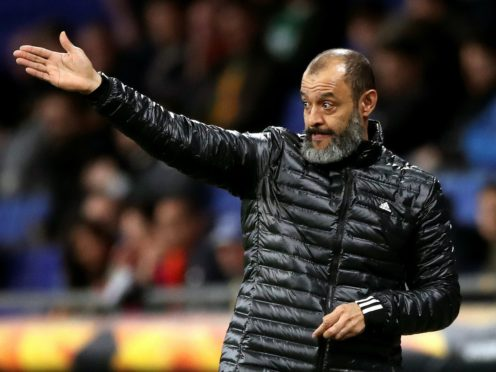 Wolves boss Nuno Espirito Santo insists there remains plenty of room for improvement from his team (Nick Potts/PA)