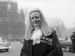 Sir Michael Havers, then the attorney-general, who led the prosecution (PA)