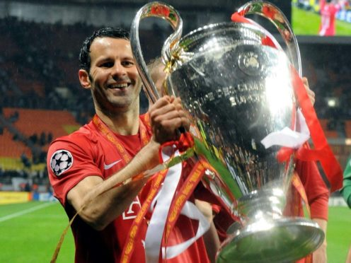 Ryan Giggs' career was laden with honours (Owen Humphreys/PA)