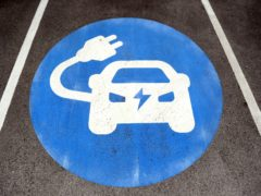 More than 1,200 electric vehicle charging devices were installed for public use in the UK between July and September, new figures show (Mike Egerton/PA)