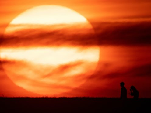 Heatwaves this summer led to 2,556 excess deaths, figures suggest (Jacob King/PA)