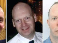 The three victims of the Reading terror attack (Family Handout/PA)