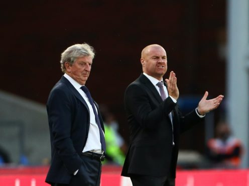 Crystal Palace manager Roy Hodgson believes Burnley counterpart Sean Dyche is experienced enough to get them out of trouble (Hannah McKay/NMC Pool)