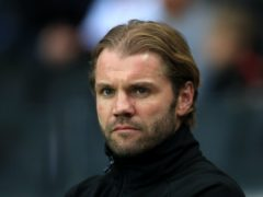 Robbie Neilson's side were stunned by Alloa (Tim Goode/PA)