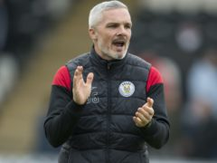 Jim Goodwin's side are top of their group (Ian Rutherford/PA)