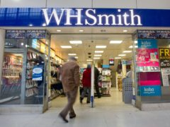 WH Smith is set to reveal a pre-tax loss on Thursday November 12 (Philip Toscano/PA)