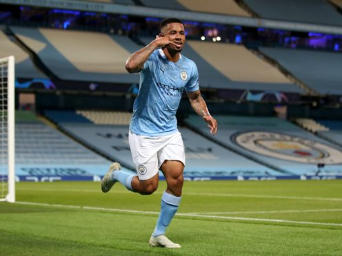 Gabriel Jesus is back in business for Manchester City (Nick Potts/PA)