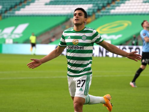 Mohamed Elyounoussi is in great form at Celtic (Andrew Milligan/PA)