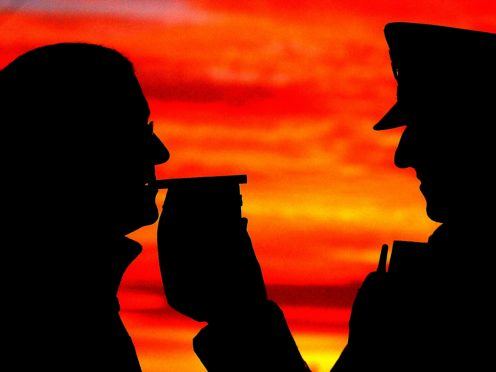 3,231 motorists failed a breath test or refused to give a sample over just a two-week period last Christmas (John Giles/PA)