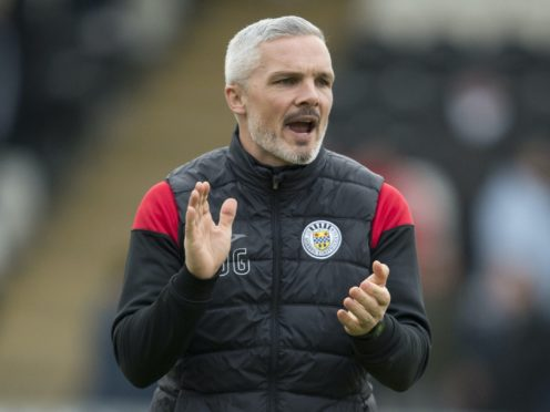 St Mirren manager Jim Goodwin will be taking no risks with his team selection when Morton come to town (Ian Rutherford/PA)