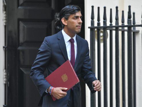 Chancellor of the Exchequer Rishi Sunak is to unveil his first spending review (Dominic Lipinski/PA)