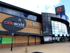 Cineworld has taken on more debt in order to shore up its finances (Mike Egerton/PA)
