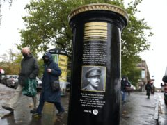 New research has found a possible burial site of Walter Tull, Britain first black Army officer who was killed in the First World War (Andrew Milligan/PA Wire)