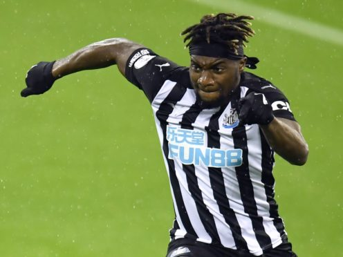 Newcastle's Allan Saint-Maximin is still learning his trade in the Premier League (Peter Powell/PA)