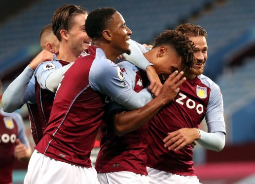 Jack Grealish, Ezri Konsa, Ollie Watkins and Matty Cash (left to right) have contributed to Aston Villa's success and their youth (Catherine Ivill/PA)