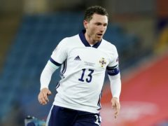 Corry Evans is set to miss Northern Ireland's Euro 2020 play-off against Slovakia (Fredrikh Hagen/PA)