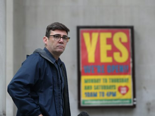 Greater Manchester Mayor Andy Burnham (PA)