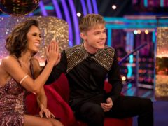 Janette Manrara and HRVY (BBC/PA)