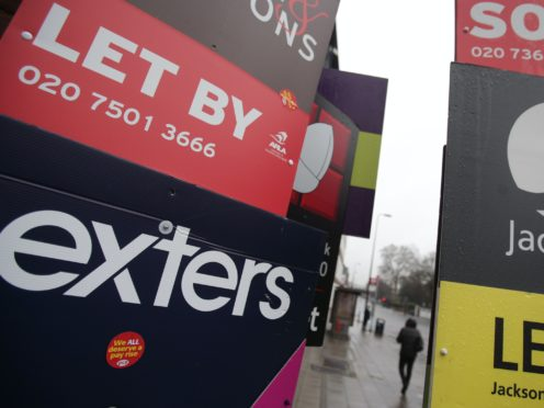 Around 100,000 additional house sales are predicted to take place in early 2021, as strong activity spills over into the new year, according to Zoopla (PA)