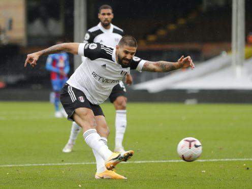 Scott Parker praised Aleksandar Mitrovic's work ethic ahead of Fulham's game against West Ham (Frank Augstein/PA)