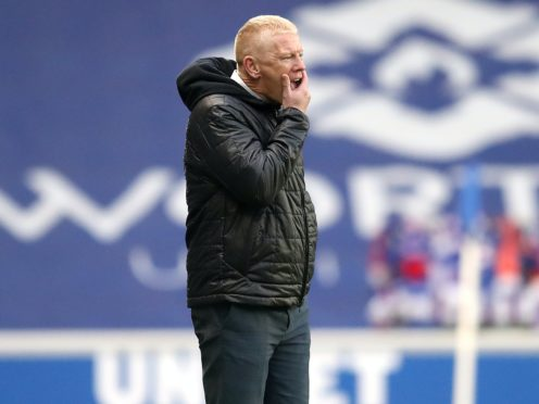 Livingston manager Gary Holt is pondering the future (Jane Barlow/PA)