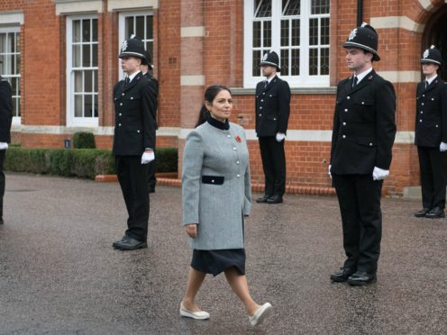 Home Secretary Priti Patel has been accused of bullying staff (Stefan Rousseau/PA)