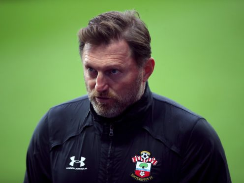 Ralph Hasenhuttl's men are top of the Premier League (Nick Potts/PA)