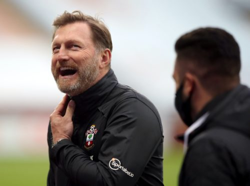 Southampton manager Ralph Hasenhuttl could take his side to the top of the Premier League (Nick Potts/PA)