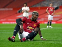 Paul Pogba acknowledged his mistake at Old Trafford (Paul Ellis/PA)